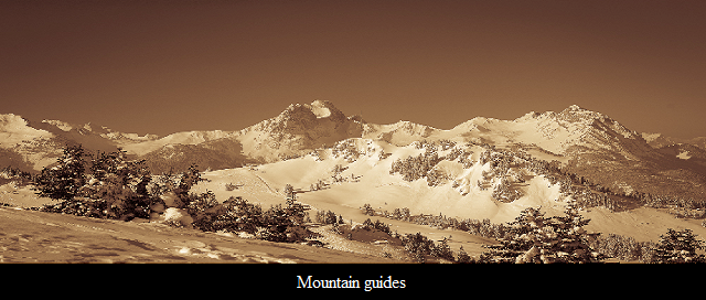 Except organising a mountain alpage for you we also provide you mountain guides to help you out there.
